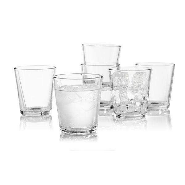 エバソロ evasolo タンブラー 耐熱グラス クリア 6個セット ボックス入り 567425 【正規品】