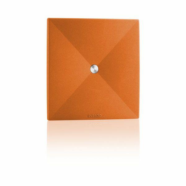 エバソロ evasolo コースター 4枚セット オレンジ 530828 【正規品】