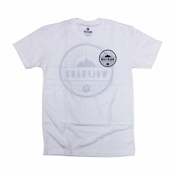 ウルフギャング マン&ビースト リード Tシャツ Rise WHITE WOLFGANG MAN & BEAST TS-050-11 【メール便対応商品 1点まで】