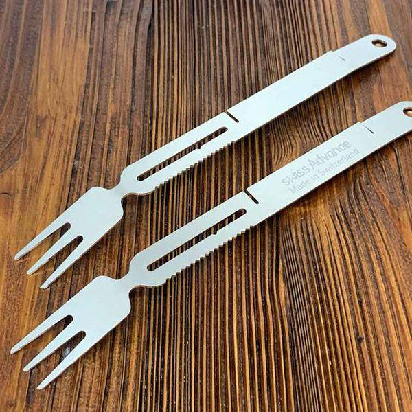 スイスアドバンス BBQトング&フォーク ステンレス製 SAIGA BBQ Tongs & Forks