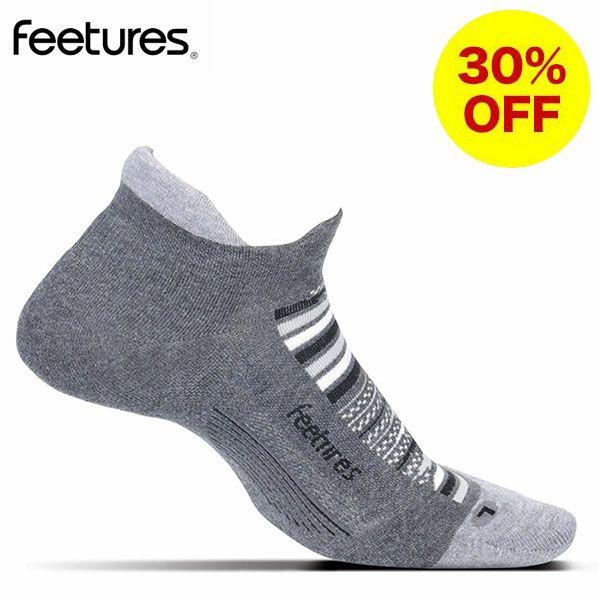 フィーチャーズ Feetures ELITE MAX CUSHION NO SHOW TAB ランニングソックス 5044050-15 Night Sky
